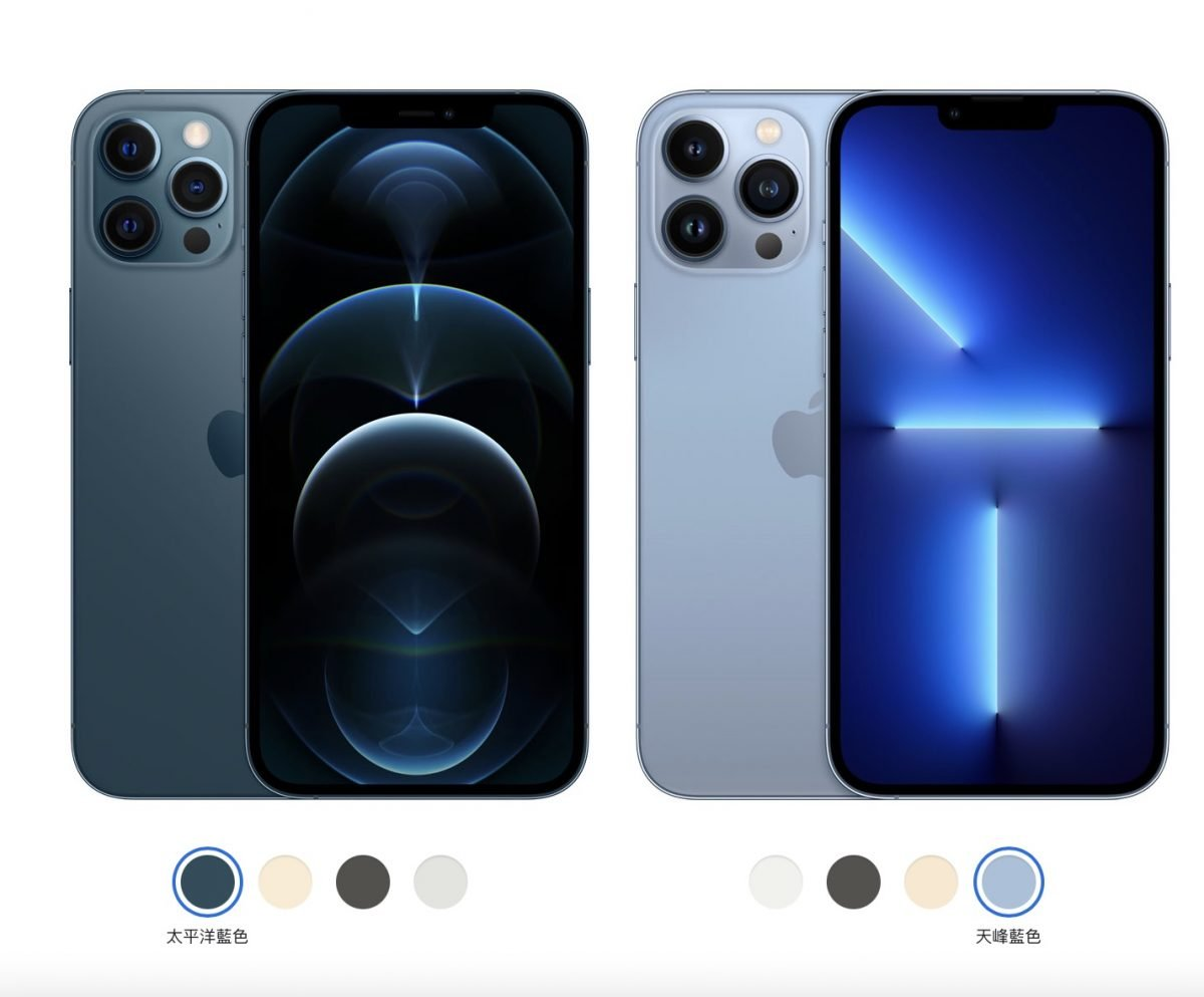 iPhone 12 Pro iPhone 13 Pro Comparison and Selection of the 2021 Fall iPhone Presentation